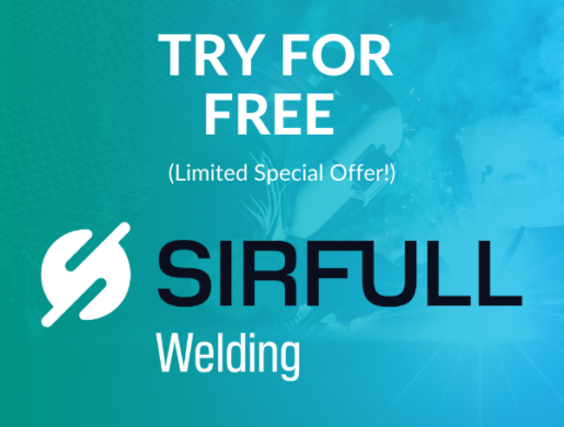 Try for free SIRFULL™ Welding (special offer)
