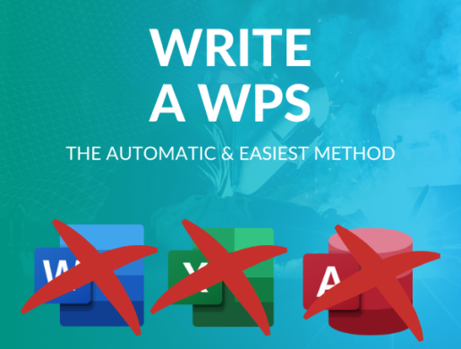An efficient system to automatically write a qualified Welding Procedure Specification (WPS) ?